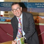 Book-signing at the Brief Encounter tearoom at Carnforth, Lancashire