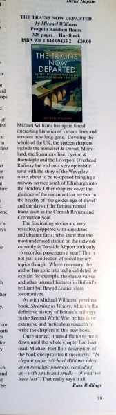 TTND review from NRM mag