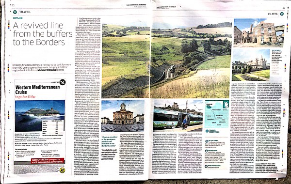 TTND Borders from Independent on Sunday